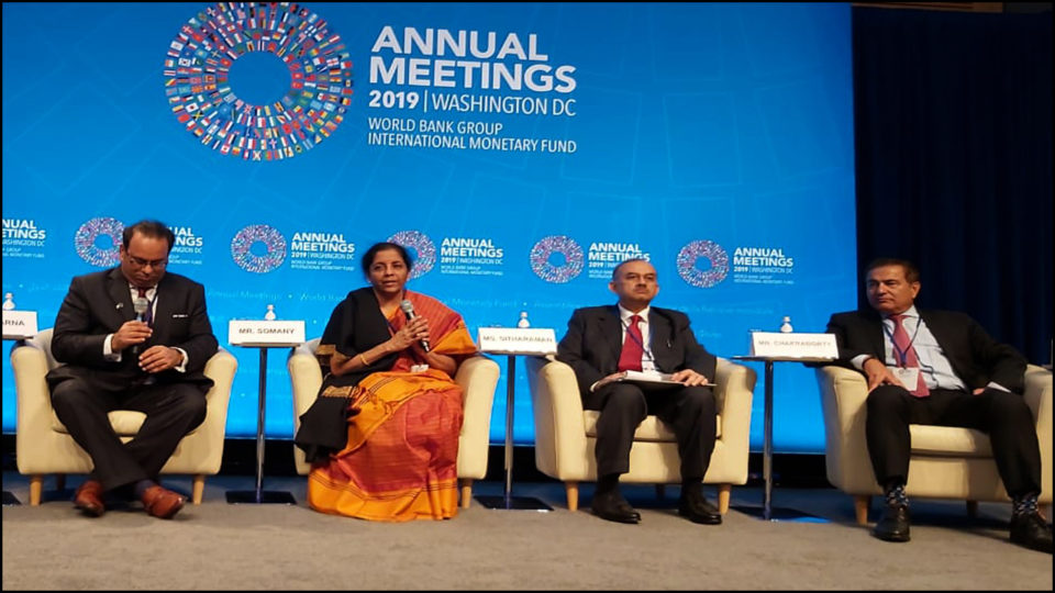 Investors will not get any better option than India - Sitharaman