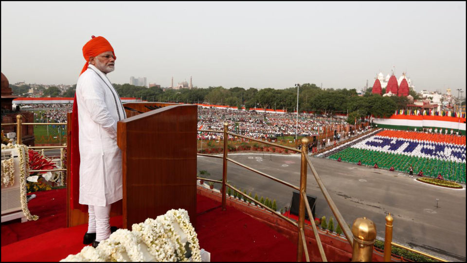 Speech and tenure of Prime Minister Modi from Red Fort