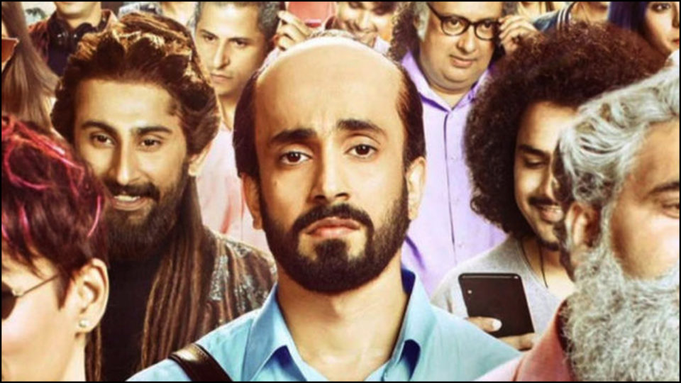 Ujda Chaman narrating the story of baldness victim, read movie review