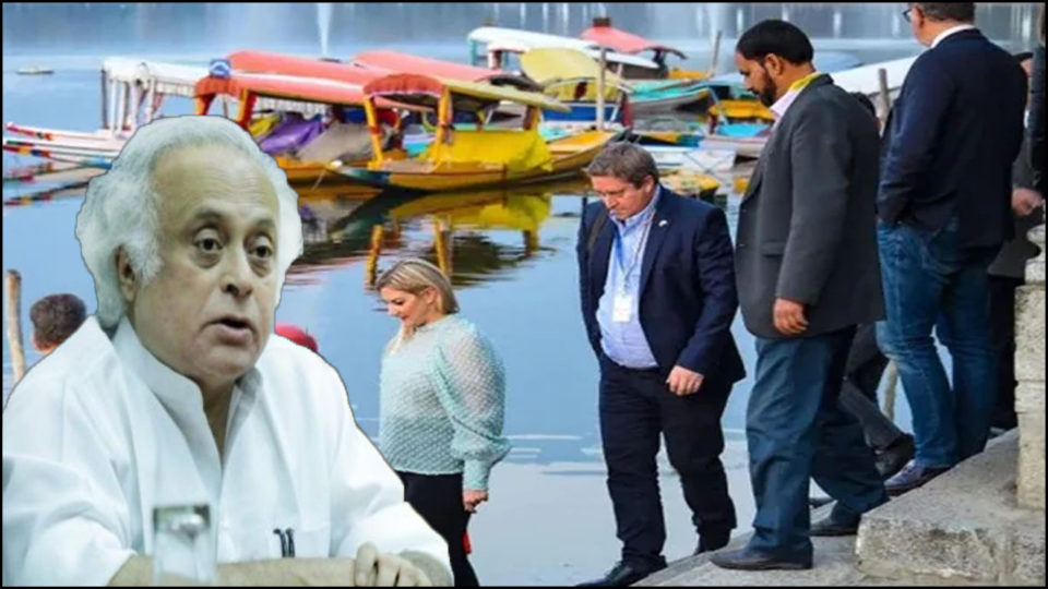Ambassadors of 17 countries begin tour of Kashmir, Jairam Ramesh tightened