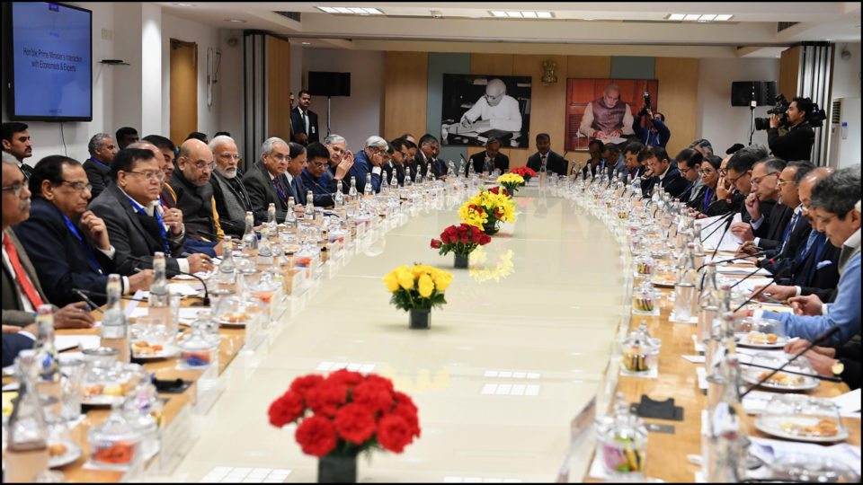 Amidst the challenge of bringing economic growth back on track, meeting on budget in NITI Aayog