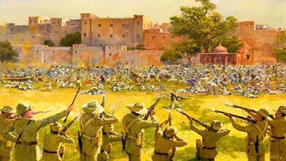 The day of the Jallianwala Bagh massacre, where even today the walls scream, history tells