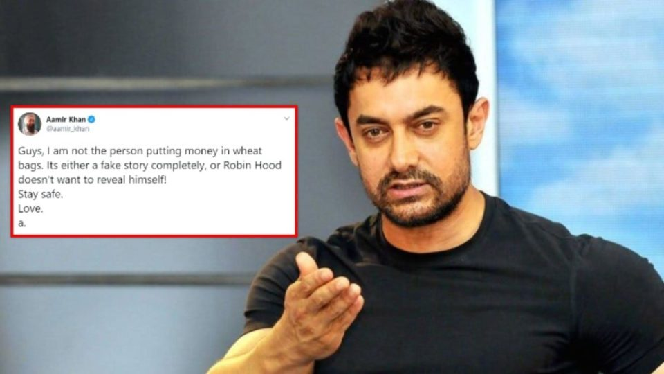 Aamir said on the video of the flour packet, I am not that person